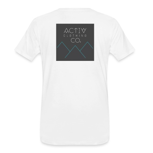 Activ Clothing - Men's Premium Organic T-Shirt