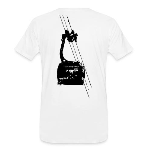 Ski Tram - Men's Premium Organic T-Shirt