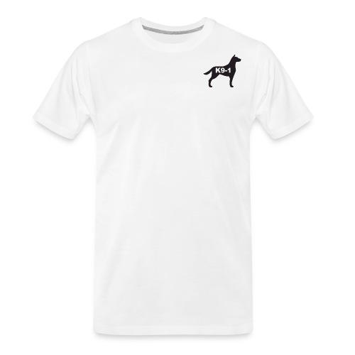 K9-1 logo - Men's Premium Organic T-Shirt