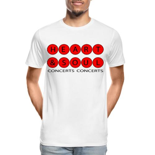 Heart & Soul Concerts Red Horizon 2021 - Men's Premium Organic T-Shirt