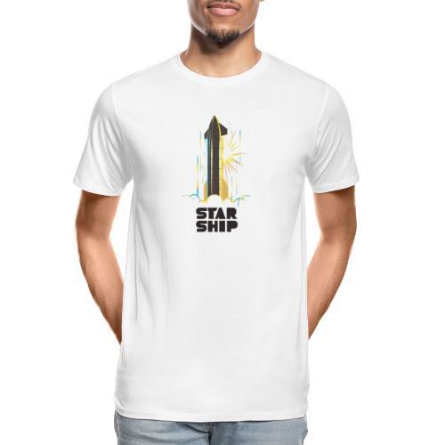 Star Ship Earth - Light - Men's Premium Organic T-Shirt
