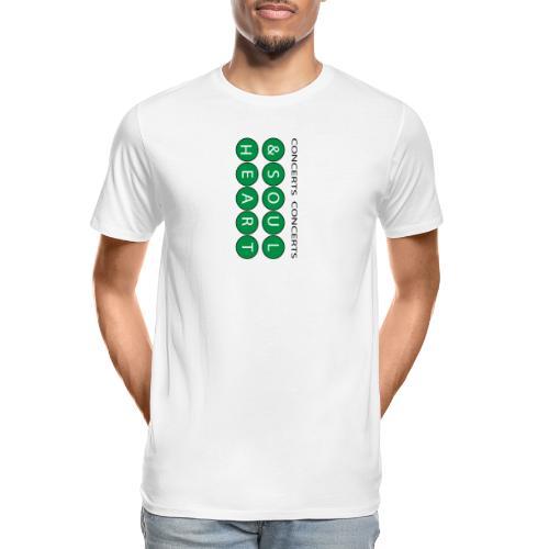 Can't go wrong with Money Green Heart & Soul - Men's Premium Organic T-Shirt