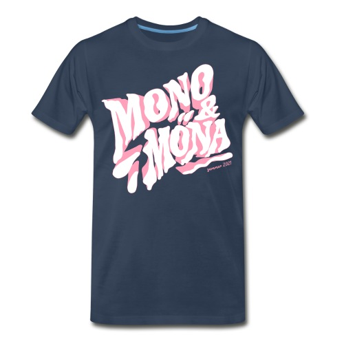 mono y mona - Men's Premium Organic T-Shirt