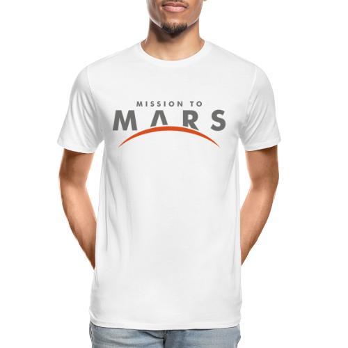mission to mars - Men's Premium Organic T-Shirt