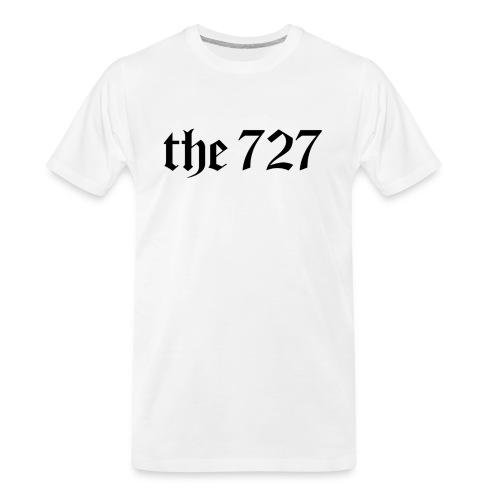 The 727 in Black Lettering - Men's Premium Organic T-Shirt