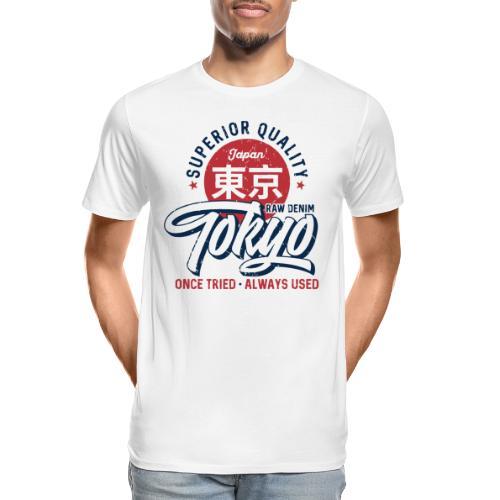 tokyo superior quality japan - Men's Premium Organic T-Shirt