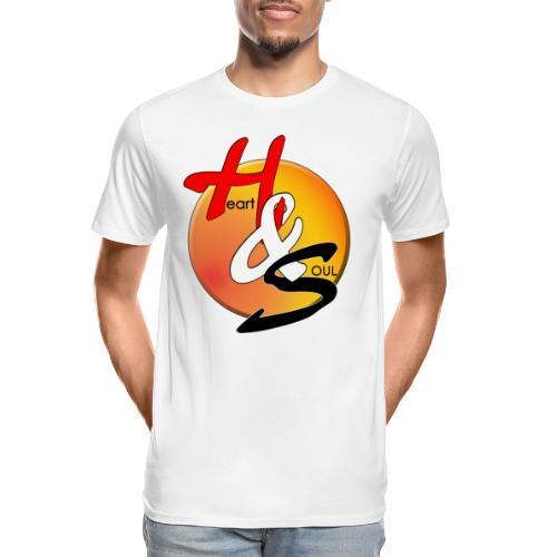 Rcahas logo gold - Men's Premium Organic T-Shirt