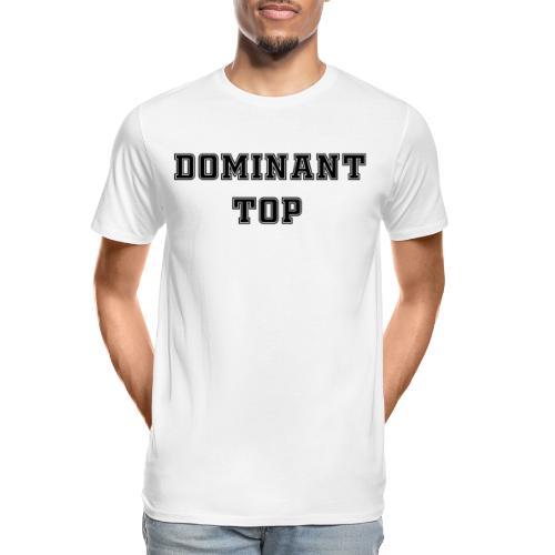 Domant top Black - Men's Premium Organic T-Shirt