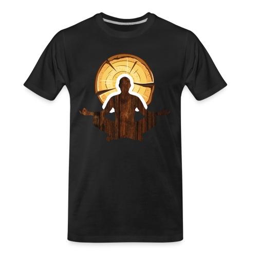 Woodworking is my meditation - Men's Premium Organic T-Shirt