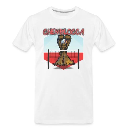 Chewblocca Volleyball Team Logo - Men's Premium Organic T-Shirt