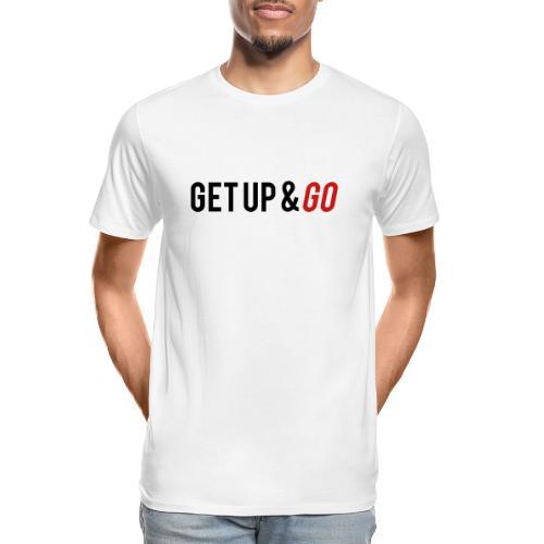 Get Up and Go - Men's Premium Organic T-Shirt