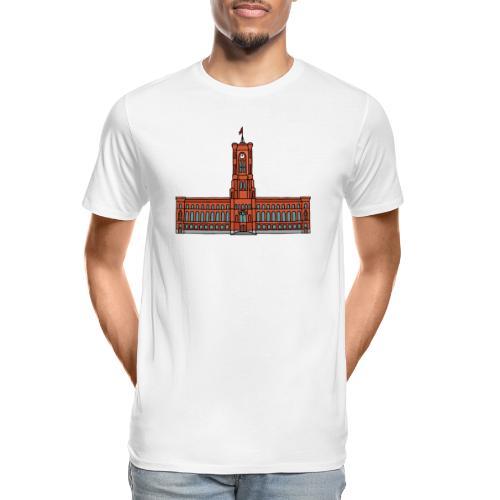 Red City Hall Berlin - Men's Premium Organic T-Shirt