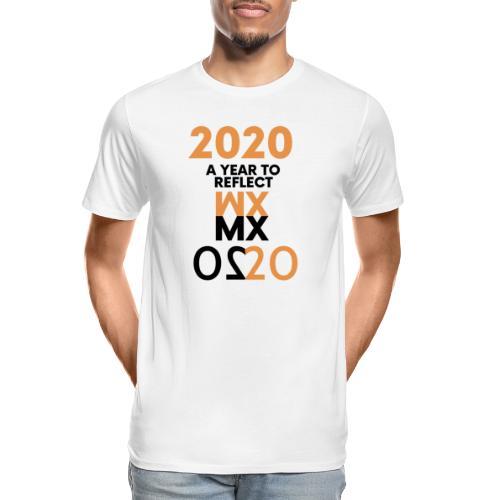 MMXX 2020 a year to reflect - Men's Premium Organic T-Shirt