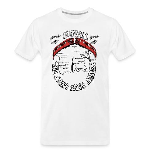 (artwork_195348) THE BOOGIE DOWN BRONX - Men's Premium Organic T-Shirt