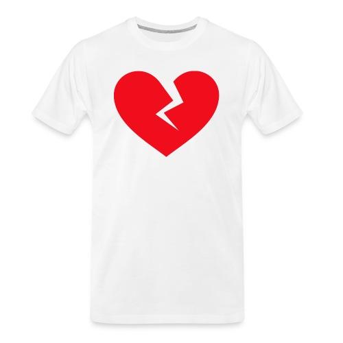 Broken Heart - Men's Premium Organic T-Shirt
