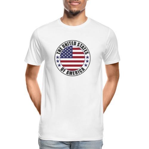 The United States of America - USA - Men's Premium Organic T-Shirt
