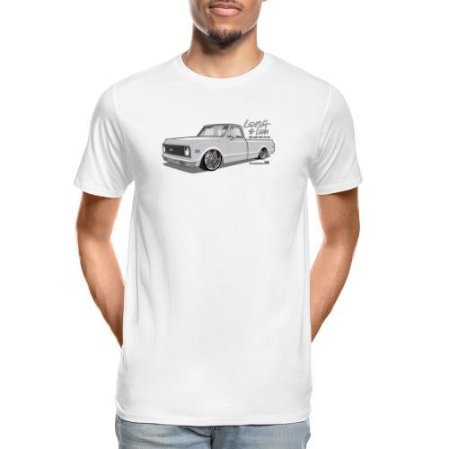 Long & Low C10 - Men's Premium Organic T-Shirt