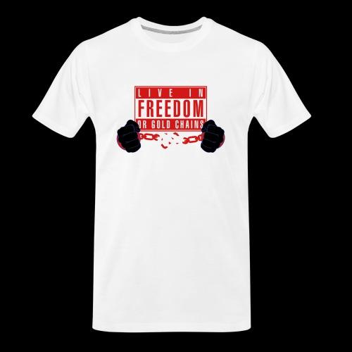 Live Free - Men's Premium Organic T-Shirt
