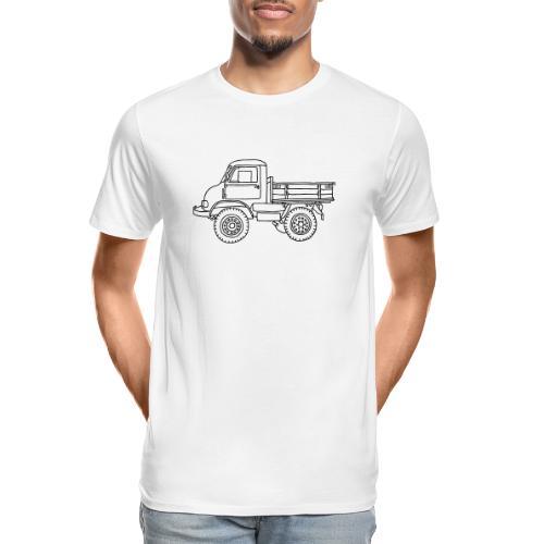 Off-road truck, transporter - Men's Premium Organic T-Shirt
