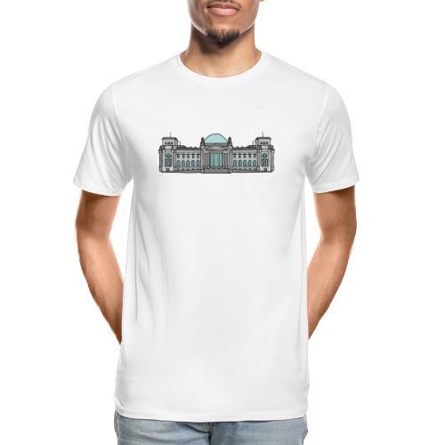 Reichstag building Berlin - Men's Premium Organic T-Shirt