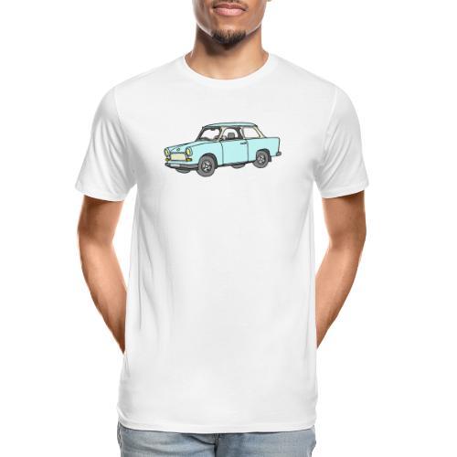 Trabant (lightblue) - Men's Premium Organic T-Shirt