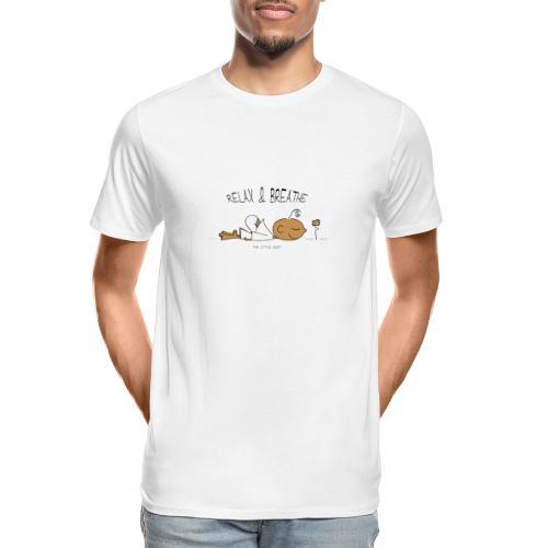 Relax & Breathe - Men's Premium Organic T-Shirt
