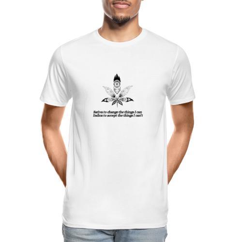 Pot Leaf - Men's Premium Organic T-Shirt