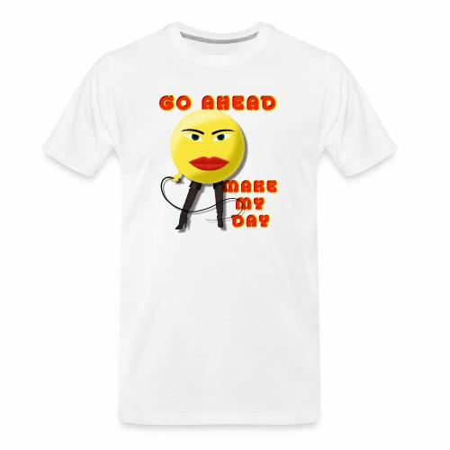 Make My Day - Men's Premium Organic T-Shirt