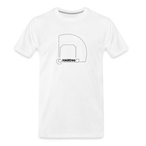 Hard 90 field - Men's Premium Organic T-Shirt