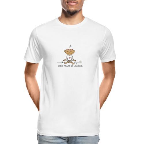 Inner Peace is Loading - Men's Premium Organic T-Shirt