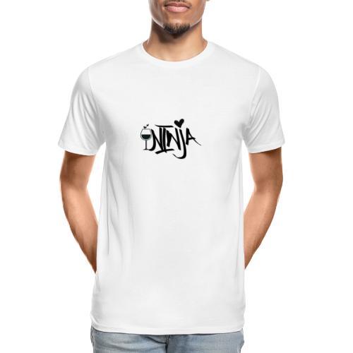 Wine Ninja - Men's Premium Organic T-Shirt
