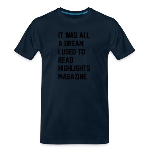 JUICY 1 - Men's Premium Organic T-Shirt