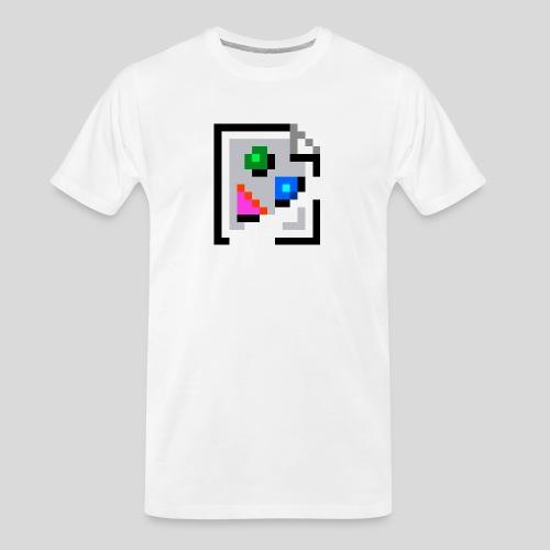 Broken Graphic / Missing image icon Mug - Men's Premium Organic T-Shirt