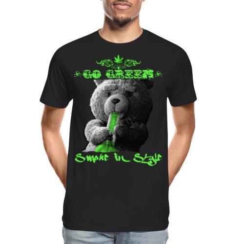 Go Green 2 - Men's Premium Organic T-Shirt