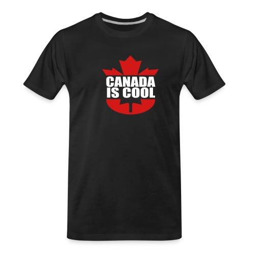 Canada is Cool - Men's Premium Organic T-Shirt