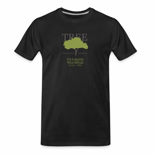 Tree Reading Swag - Men's Premium Organic T-Shirt