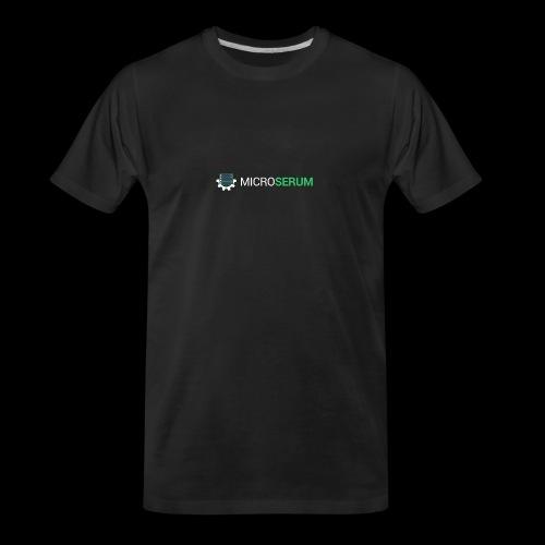 microserum blanc grand - Men's Premium Organic T-Shirt