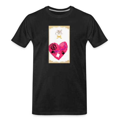 Heart of Economy 1 - Men's Premium Organic T-Shirt
