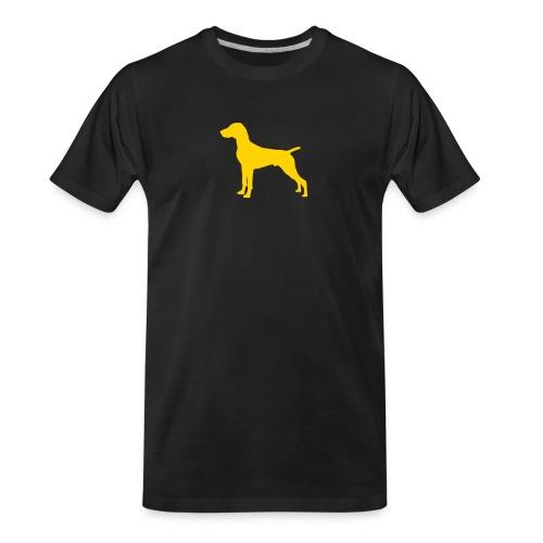 German Shorthaired Pointer - Men's Premium Organic T-Shirt