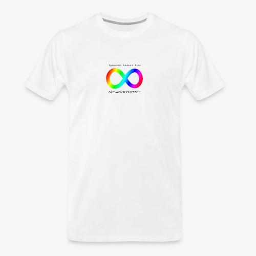 Embrace Neurodiversity - Men's Premium Organic T-Shirt