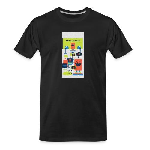 iphone5screenbots - Men's Premium Organic T-Shirt