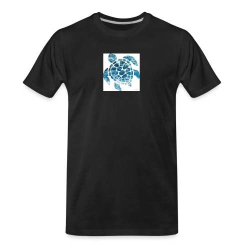 turtle - Men's Premium Organic T-Shirt