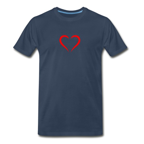 open heart - Men's Premium Organic T-Shirt