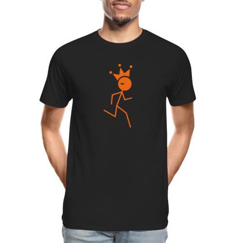 Winky Running King - Men's Premium Organic T-Shirt