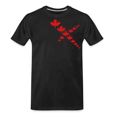 Maple Leafs Cross - Men's Premium Organic T-Shirt
