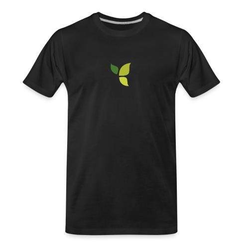 Dom Gooden Leaf Logo - Men's Premium Organic T-Shirt