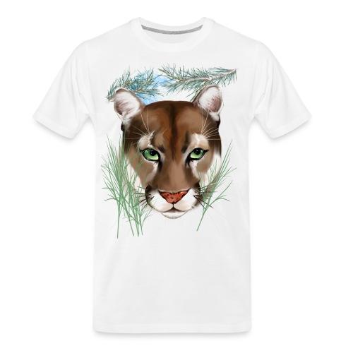 Midnight Puma - Men's Premium Organic T-Shirt