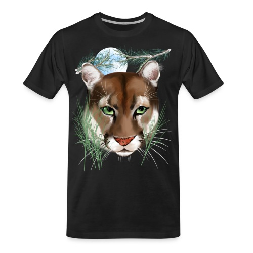 Midnight Puma - Men's Premium Organic T-Shirt