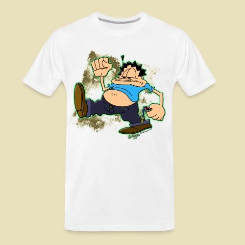Ongher's UFO Ongher March - Men's Premium Organic T-Shirt