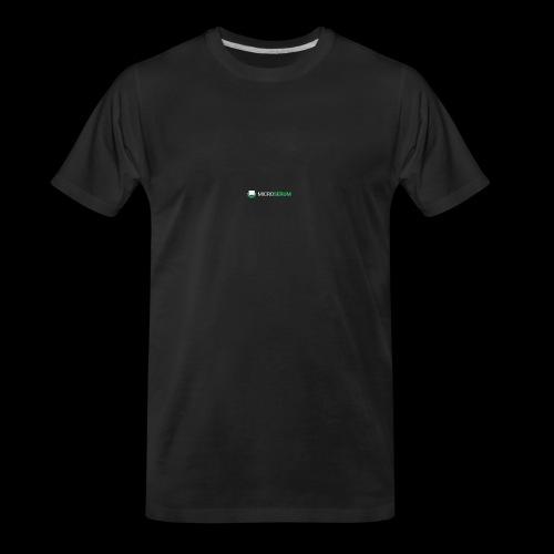 microserum blanc petit - Men's Premium Organic T-Shirt